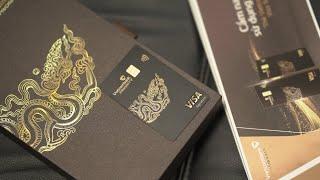 Thẻ tín dụng vietcombank priority đen nhưng chất | Credit nguyễn