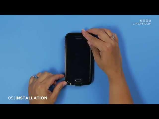 Belsimpel-productvideo voor de Lifeproof Fre Case Black Samsung Galaxy S6