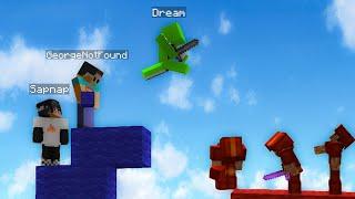 Dream Team destroying in Bedwars