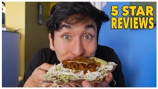 Eating At The BEST Reviewed Mexican Restaurant In My City (5 Star)