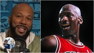 Common was a ball boy for Michael Jordan and the Bulls -- and sold his free Jordans | Jalen & Jacoby