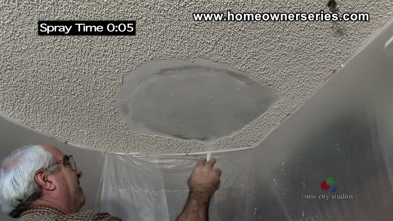 How To Texture Drywall Popcorn Ceiling Drywall Repair