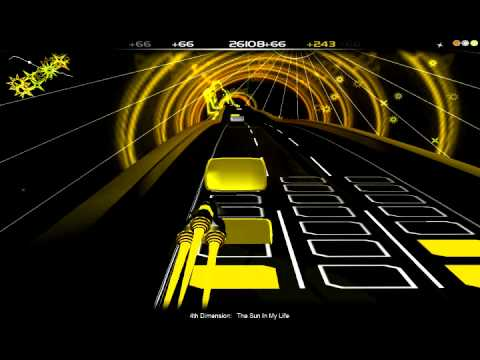 Let's Audiosurf 4th Dimension - The Sun In My Life