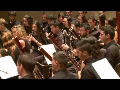 Jove Banda Simfònica de la FSMCV Estructuras Sinfónicas de Bernardo Adam Ferrero