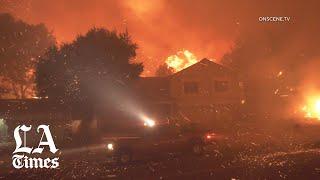 Saddleridge fire burns more than 4,700 acres