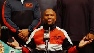 FLOYD MAYWEATHER HUGE ANNOUNCEMENT 2019 VS MANNY PACQUAIO
