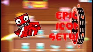 5 EPIC ICON SETUPS!?!?!? [Geometry Dash]