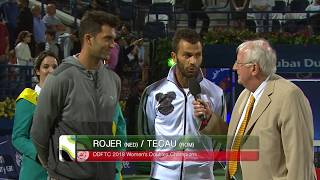 2018 ATP Doubles Final: Rojer/Tecau Speech