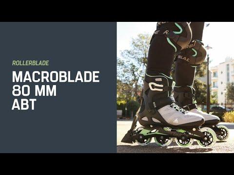 Video ROLLERBLADE Macroblade 80 - 21 Black Lime