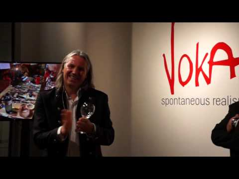 Voka Spontaneous Realism & Frank Stronach Sirona Fine Art Gallery Hallandale Beach FL
