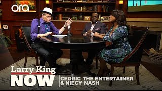 "Cedric The Entertainer & Niecy Nash talk ""The Cosby Show,"" & teach Larry swag"