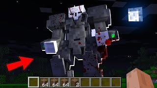 GIANT SCARY ROBOT! In MINECRAFT : NOOB vs PRO