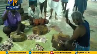 In this village temple, Biryani is served as 'Prasad' duri..