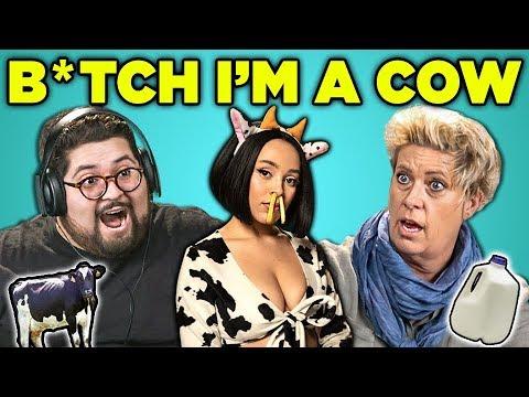 Adults React To B*tch I'm A Cow (Doja Cat - Mooo!)