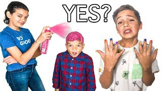 SAYING Yes to GIRLS for 24 hours!