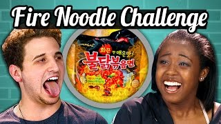 TEENS vs. FOOD - FIRE NOODLE CHALLENGE