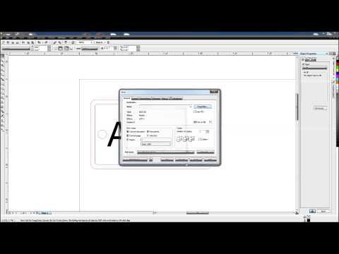 Universal Laser Quick Start Tutorial with Corel Draw