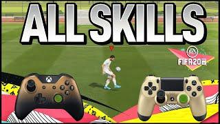 FIFA 20 TUTORIAL TODOS OS DRIBLES   ALL SKILLS FIFA 20 PS4 XBOX