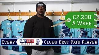 Best Paid Player at EVERY League One Club