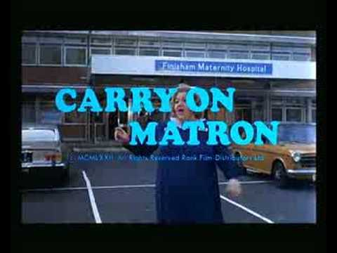Carry on Matron'