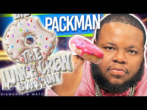 BFB Da Packman Orders a $100,000 Donut at Icebox!