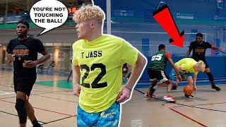 They Put Their WHOLE TEAM On Me! 5v5 Men's League Basketball!