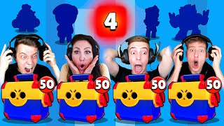 *OMG* 4 BRAWLER IN 1 MEGA BOX! 😱 MEGA BOX OPENING BATTLE! 3x LEGENDÄRER BRAWLER! Brawl Stars deutsch
