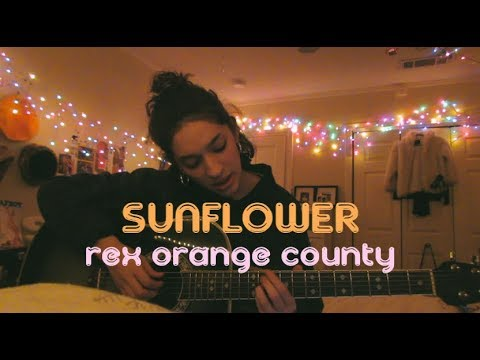 Sunflower by Rex Orange County (Cover) by Sara King