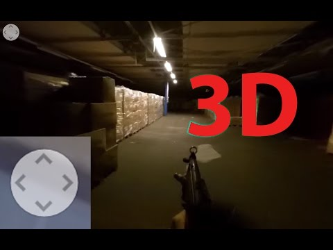 VR GunGame (HL3:DM) | 360 3D (VR) Live Action POV First Person Shooter HL3