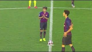 Carles Aleñá ⚡ Riqui Puig vs. Villarreal B ● Barcelona B ● Segunda B 2018/19