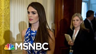 Hope Hicks' Resignation: 'Chaos And Corruption' The Theme Of Wednesday | Morning Joe | MSNBC