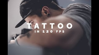 TATTOO IN 120 FPS | Sony a6300
