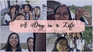 A Day in a Life of a Grade 12 Student ABM 2nd SEM ││ VLOG [ENG SUB]