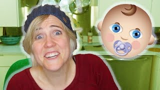 Reacting to the MOST SHOCKING Pregnancy Facts ||  Hannah Hart