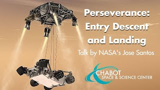 Perseverance: Entry Descent and Landing