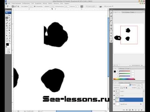 Видео урок изучения инструментов Photoshop