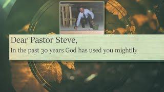 Dear Pastor Steve…
