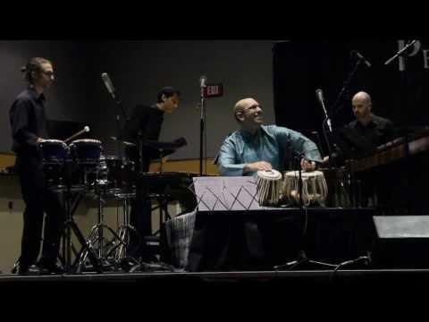 Shawn Mativetsky - Payton MacDonald's 4th Concerto for Tabla and Percussion Quartet