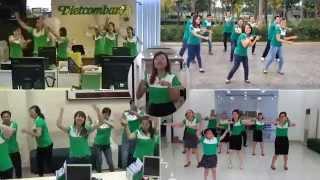 Flashmob VIETCOMBANK HCM 2014