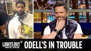 Odell Beckham Jr. Slapped a Cop's Ass (feat. Joel McHale) - Lights Out with David Spade