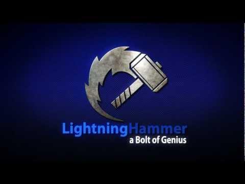 Lightning Hammer Logo
