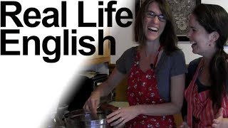 How to Pronounce Ending T Clusters + Homophones -- Baking! -- American English