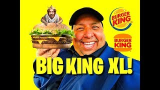 Burger King's® New Big King XL REVIEW!