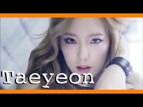 every Girls' Generation MV but only when Taeyeon has a line | 소녀시대 x 태연