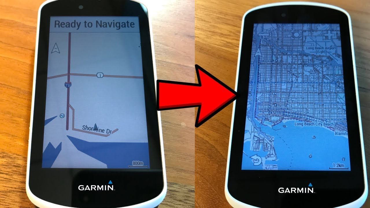 OpenStreetMaps on Garmin Edge 1030 // Free International Maps for Garmin  Edge GPS