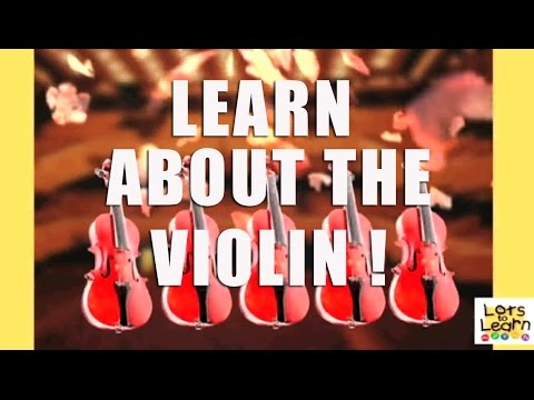 Lots To Learn Preschool Video - Learn About Violin Music