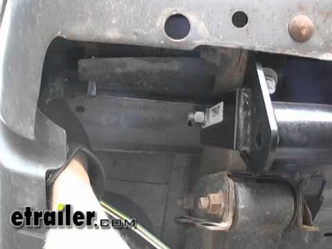 installation of the hopkins endurance 7way trailer wiring harness installation of a trailer wiring harness on 2000 trailer wiring harness installation - 2000 ford explorer ...