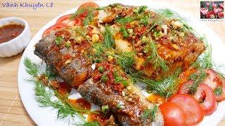 Cá chiên giòn Sốt Me - Cách làm Cá chiên giòn sốt Me chua ngọt vị vừa ăn và thơm ngon by Vanh Khuyen