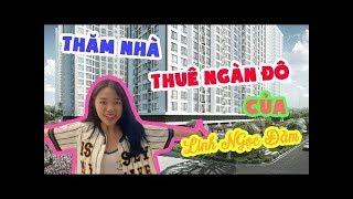 Thăm nhà thuê ngàn đô của LNĐ | Linh Ngọc Đàm Reviews