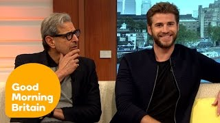 Liam Hemsworth And Jeff Goldblum Have A Laugh With Piers And Susanna   Good Morning Britain
